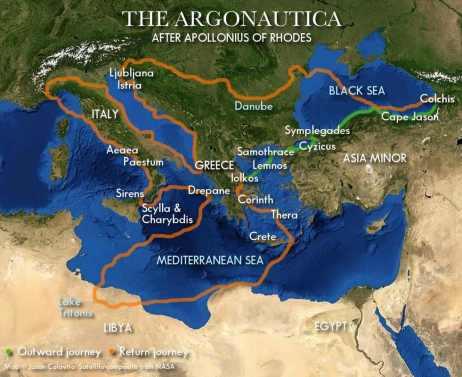 argonautica-calatorii